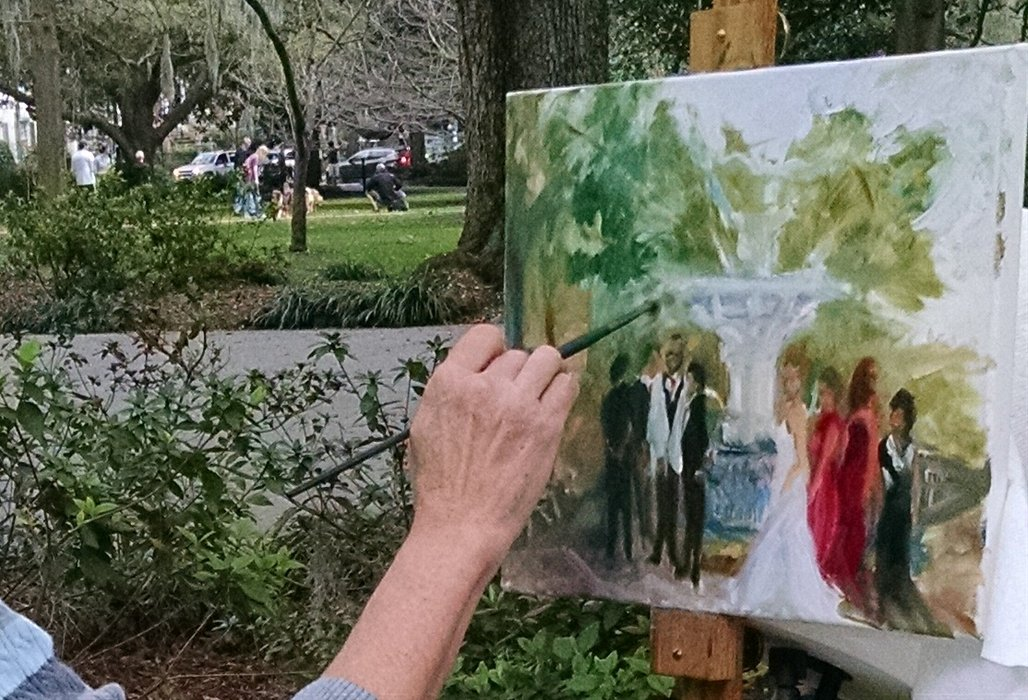 Live Event Painting by Ann Bailey Atlanta's profile image
