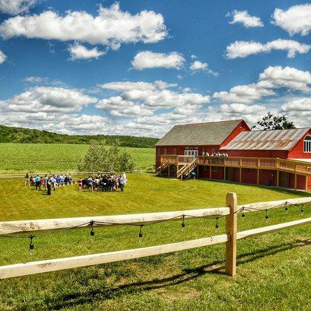 Wedding Barn at Lakota Farm