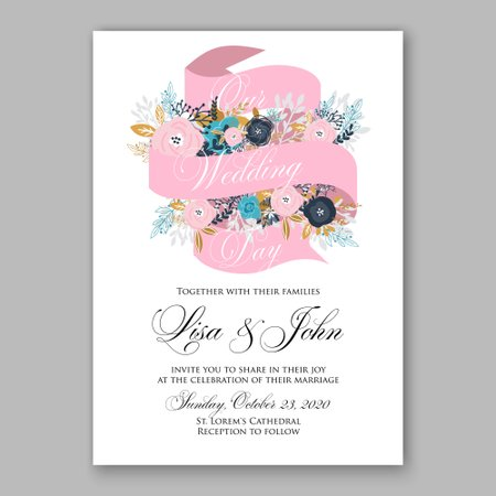 Wedding Invitations by Ivan Negin