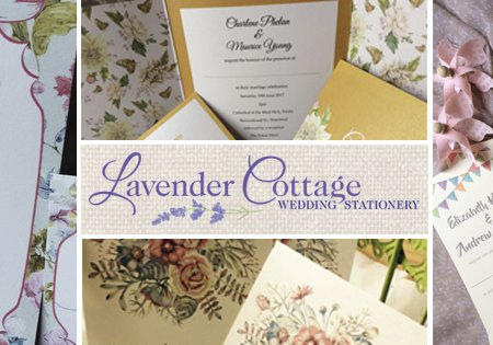 Lavender Cottage Wedding Stationery