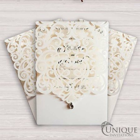 Diamond Wedding Cards