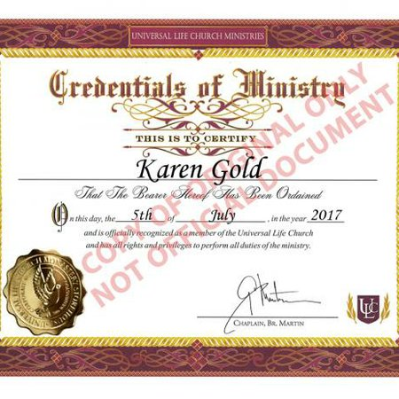 Karen's Wedding Services, Inc.