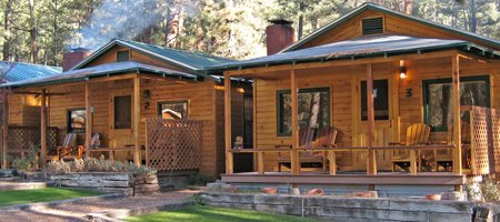 Romantic Ruidoso Cabins