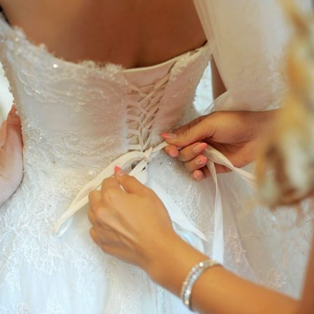Confetti Wedding Dress Cleaning