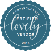 WeddingLovely Certified Lovely Vendor Badge