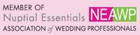 Member of Nuptial Essentials Association of Wedding Professionals