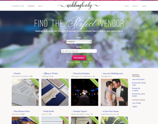 WeddingLovely Vendor Guide Thumbnail