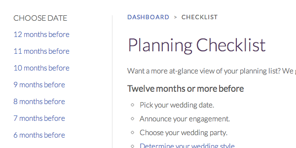 Free online wedding planning guide weddinglovely printable checklist junglespirit