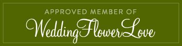 Rectangle weddingflowerlove badge