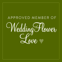 Square WeddingFlowerLove badge