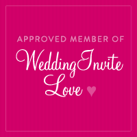 Square WeddingInviteLove badge