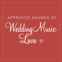 Square WeddingMusicLove badge