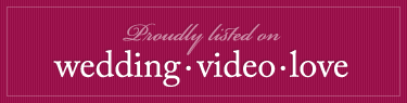 Rectangle weddingvideolove badge