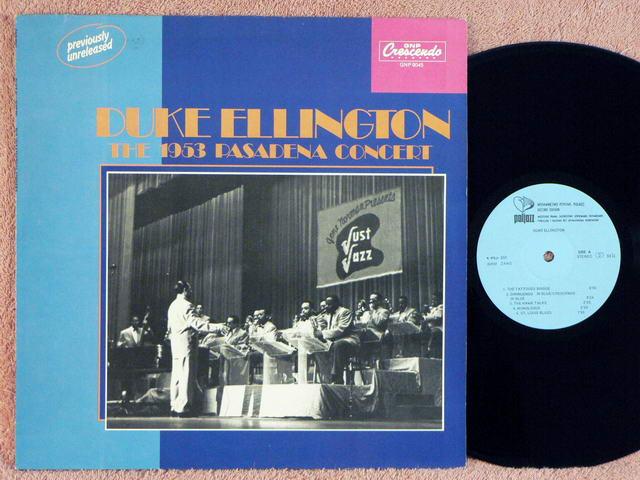 The 1953 Pasadena Concert