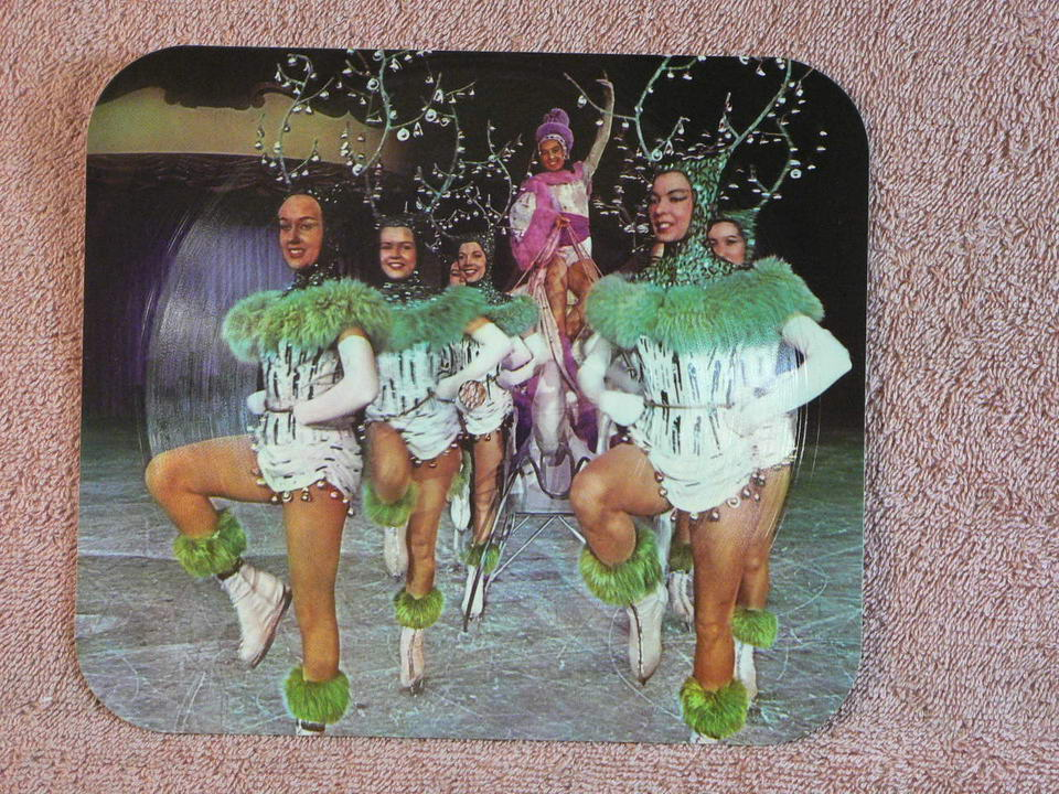 VILLIERS, IRIS - Holiday On Ice, Musical Memories Record Card. AUTOGRAPHED - Carte Postale