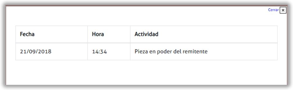 Seguimiento Encomienda Chile