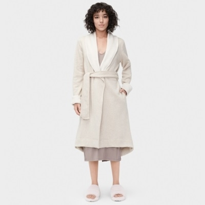 Picture of UGG® Ladies' Duffield Robe - Oatmeal