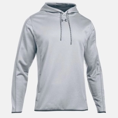 Picture of Under Armour Fleece Double Threat Hoodie True Gry Hthr