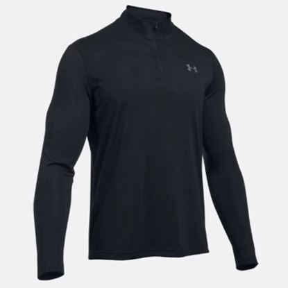 Picture of Under Armour Threadborne 1/4 Zip Black/Graphite