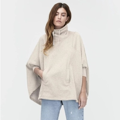 Picture of UGG® Ladies' Pichot Poncho - Oatmeal Heather/X