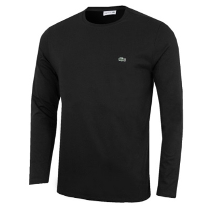 Picture of Lacoste Men's Long Sleeve Jersey Crewneck Black