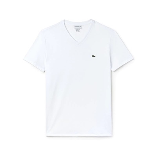 01fb1d4c MileagePlus Merchandise Awards. Lacoste Men's Short Sleeve V-Neck ...