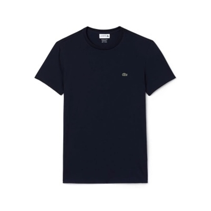 Picture of Lacoste Men's Short Sleeve Crewneck Tee Navy