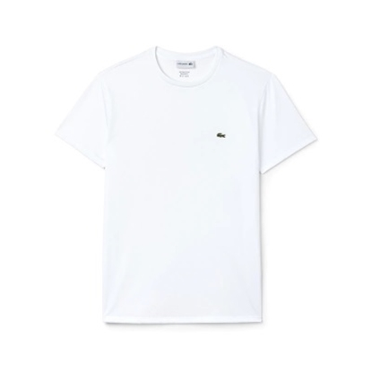 Picture of Lacoste Men's Short Sleeve Crewneck Tee White