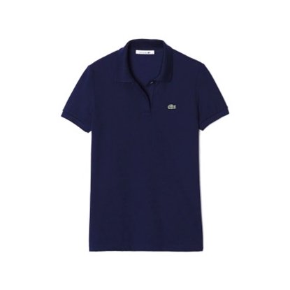 Picture of Lacoste Women's Short Sleeve Classic Polo Navy