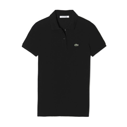Picture of Lacoste Women's Short Sleeve Classic Polo Black