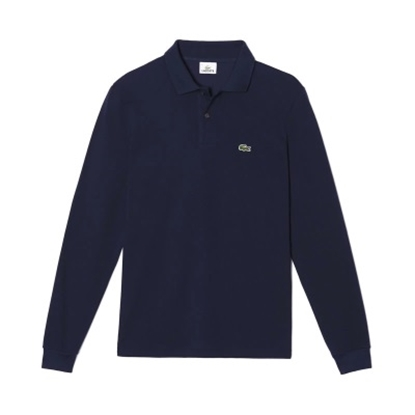 Picture of Lacoste Men's Long Sleeve Classic Polo Navy