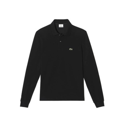 Picture of Lacoste Men's Long Sleeve Classic Polo Black