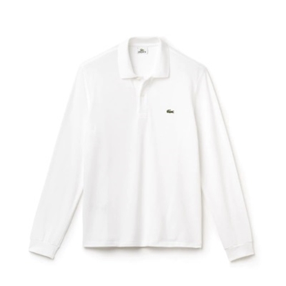 Picture of Lacoste Men's Long Sleeve Classic Polo White