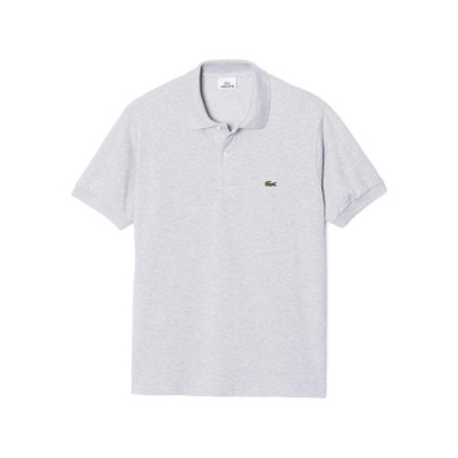 Picture of Lacoste Men's Short Sleeve Chine Polo Grey