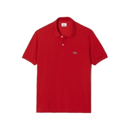 Picture of Lacoste Men's Short Sleeve Classic Polo Red