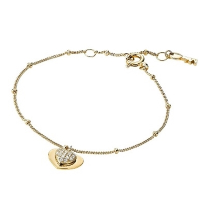 Picture of Michael Kors Kors Love 14k Gold Plated Bracele