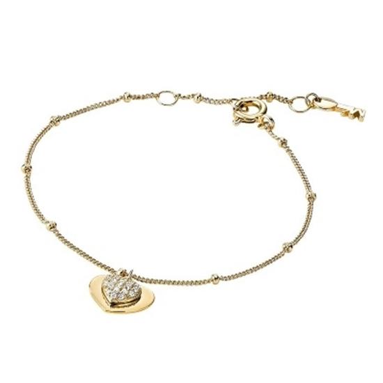 Picture of Michael Kors Kors Love 14k Gold Plated Bracele
