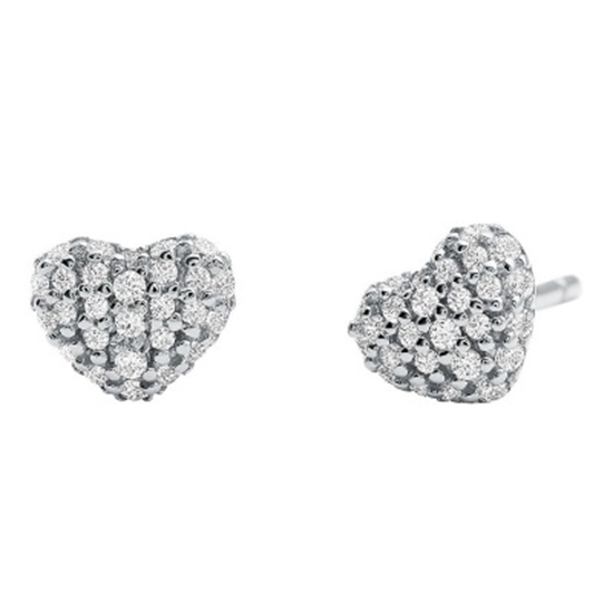 Picture of Michael Kors Kors Love Pave Heart Earring