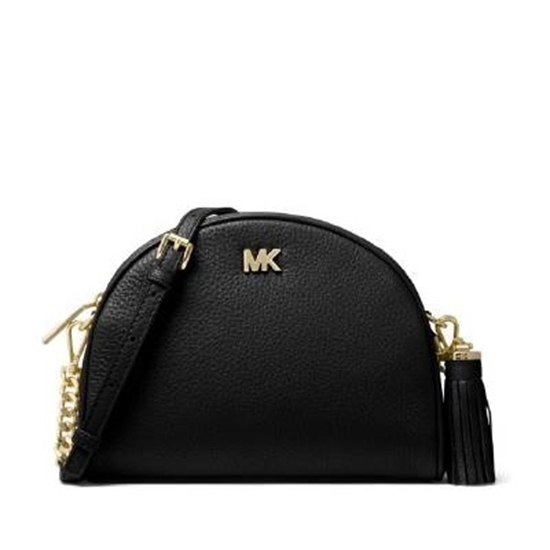 Picture of Michael Kors Medium Half Moon Crossbody