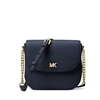 Picture of Michael Kors Mott Pebbled Leather Dome Crossbody