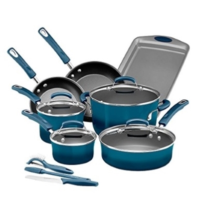Picture of Rachael Ray 14-Piece Hard Enamel Cookware Set