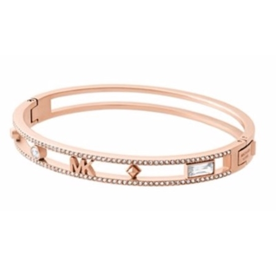 Picture of Michael Kors Heritage Stainless Steel Bangle - Rose Gol
