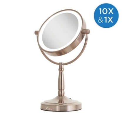 Picture of Zadro Cordless LED Vanity with 1X/10X Magnification- Rose Gold