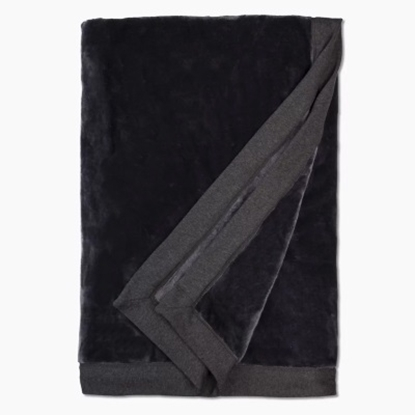 Picture of UGG® Duffield Throw - Black Bear Heather