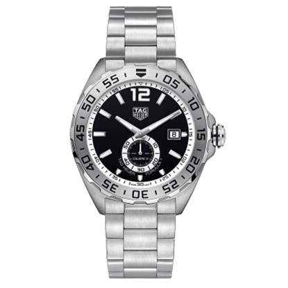 Picture of TAG Heuer Formula 1 Calibre 6 Steel Watch with Black Dial