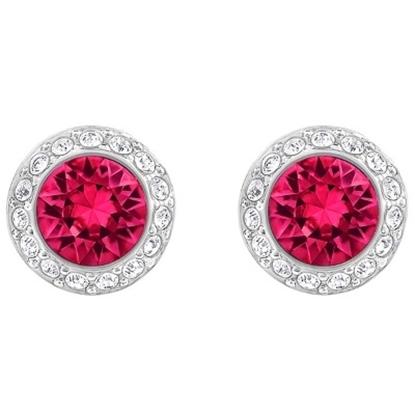 Picture of Swarovski Angelic Pierced Earrings - Red