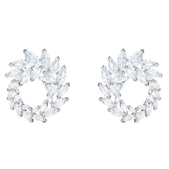 85d4b721e MileagePlus Merchandise Awards. Swarovski Louison Hoop Pierced Earrings