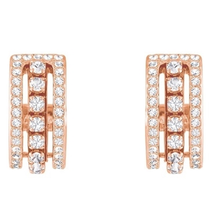 Picture of Swarovski Further Pierced Earrings - Rose Gold