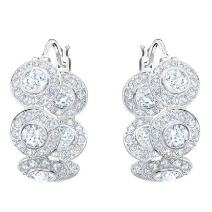 Picture of Swarovski Angelic Hoop Pierced Earrings