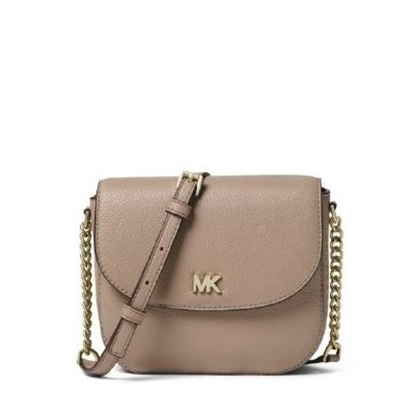 Picture of Michael Kors Half Dome Crossbody - Truffle
